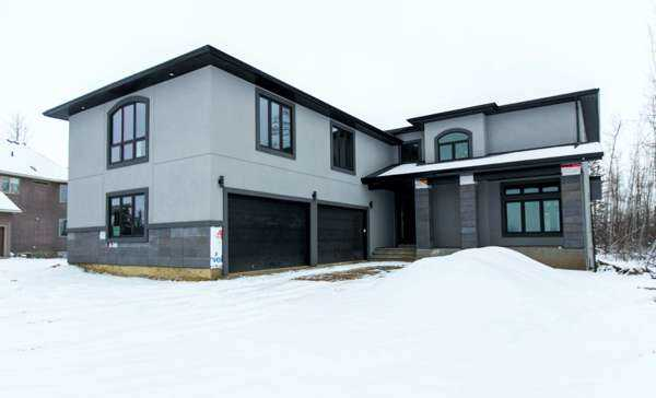 wolf custom built homes edmonton