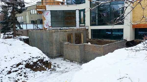Residential and commercial concrete foundations edmonton
